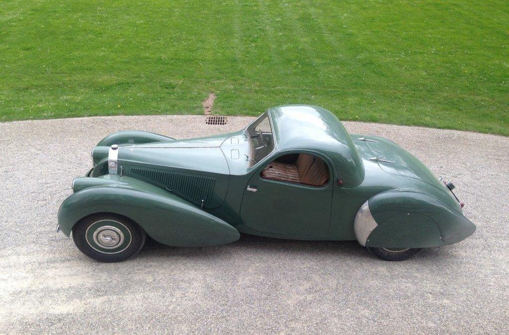 """1938 Bugatti T57C """"VanVooren"""""""